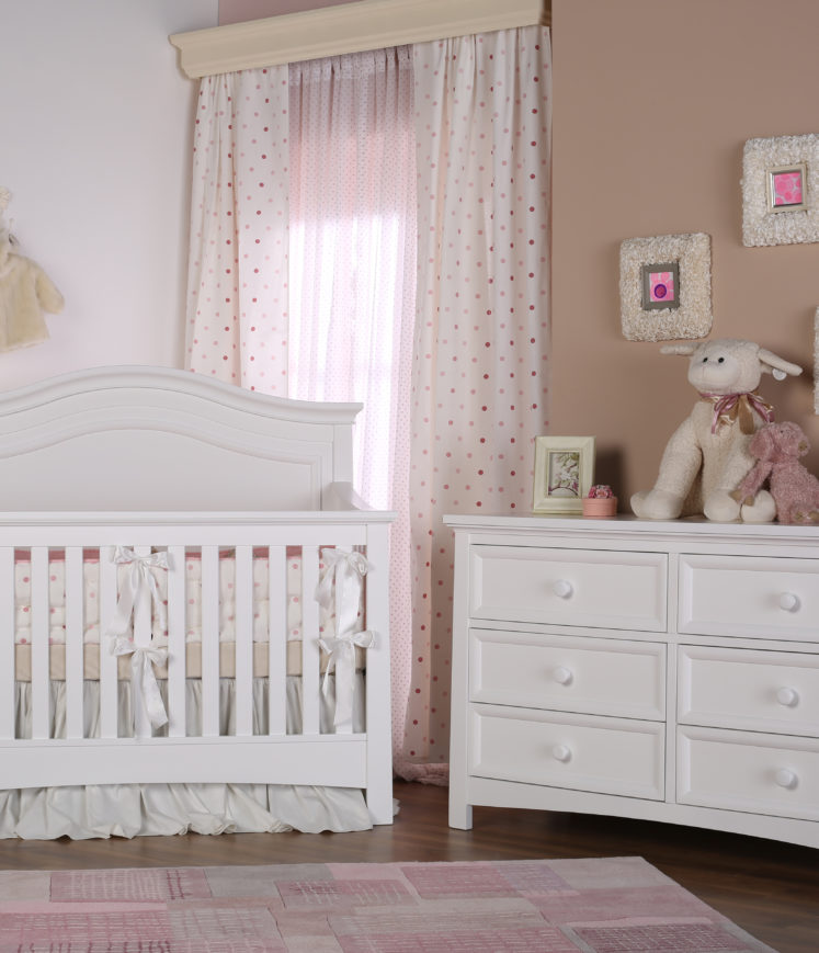 Serena   Crib   Silva Furniture   Rooms To Grow   Crib To College Collection