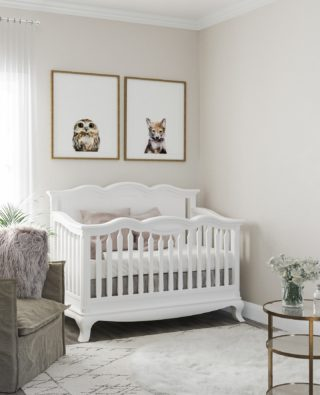Comfort is key - for both baby and parents. Find cribs and dressers  that suit everyone, in special package pricing for top choices, at Rooms to Grow.