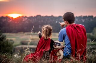 Looking to the future with a Superfamily. Wishing all the dads out there a 'Happy Father's Day'!