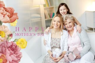 Best wishes to all mothers in every generation!