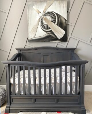 Rev up your child's room with pictures to feed your imagination. Tell stories to your child while feeding or putting the baby to sleep.     #RoomsToGrow #Lifestyle #ShopRhodeIsland #Parenthood #BabyCribs #ModernNursery #ClassicNursery #NurseryInspiration  #BabyRoom #SimpleNurseries #ElegantNurseries #NurseryInspo #PackageDeals #ConvertibleCrib 