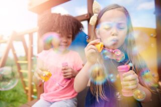 Who doesn't love bubbles! Be a kid again with your kids, have a bubble celebration!    📸 by gpointstudio   #RoomsToGrow #Lifestyle #Instagood #Children #ParentingLife #Kids #ShopRhodeIsland #Family #LetThemBeLittle #Parenthood