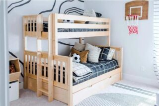 Beds for siblings or children and friends. Rooms to Grow is here to help you choose the bedroom furniture you need for a growing family.
