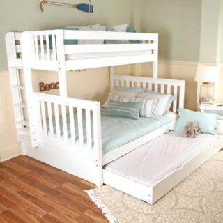 Here is expanded sleep space for extended family or visiting friends. Limited space does not necessarily mean no room. Comfort comes in many styles.