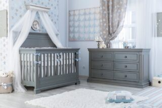 Have you seen Jackson's 3 Piece Crib Package? This 3 piece set made with non-toxic finishes, offers comfort and style for your little one. From the convertible 4 in 1 crib to the double dresser this is a purchase that brings together comfort and safety during your incredible journey of raising your little one.