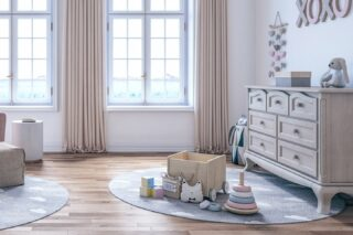 A good dresser is a good building block for the future. They age well with your child and can be used for them as they grow. Stop by to start building.