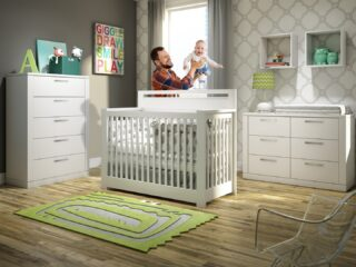 The Milano collection of white baby furniture in white is crisp and clean and works well with a wide variety of colors and design styles.     #RoomsToGrow #Lifestyle #Instagood #Children #ParentingLife #Kids #YouthFurniture #ShopRhodeIsland  #Family #LetThemBeLittle #Parenthood #BabyCribs #ModernNursery #ClassicNursery #NurseryInspiration  #BabyRoom #SimpleNurseries #ElegantNurseries #ShopRoomsToGrow #NurseryInspo #PackageDeals #ConvertibleCrib #ShopRoomsToGrow