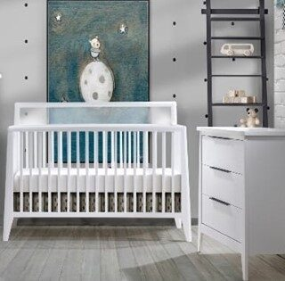 Our crib packages range from 3 to 5 pieces, and many are available in an array of finishes. Call today to schedule an in-person appointment to find a set that is perfect for you and your little one.
